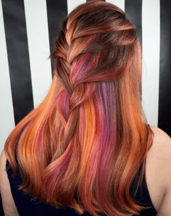Sunset Hair