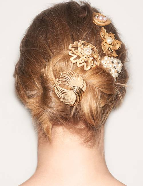 Redken Hairstyle Lookbook Accessorized Updo I Redken Canada