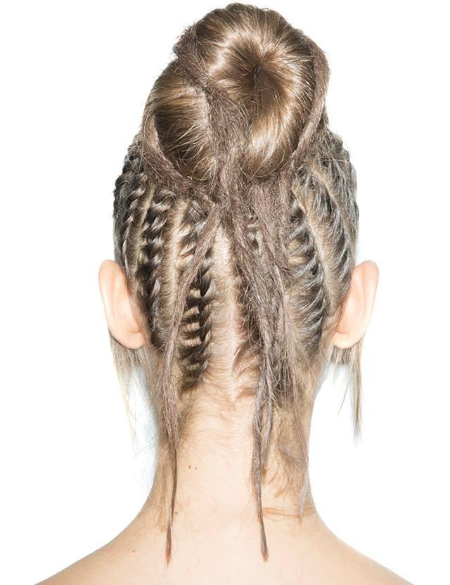 Tuto Coiffure Chignon Tribal Cheveux Longs Redken Canada