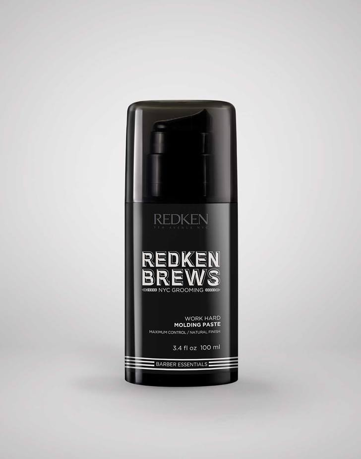 Redken Brews Work Hard Molding Paste ByRedken