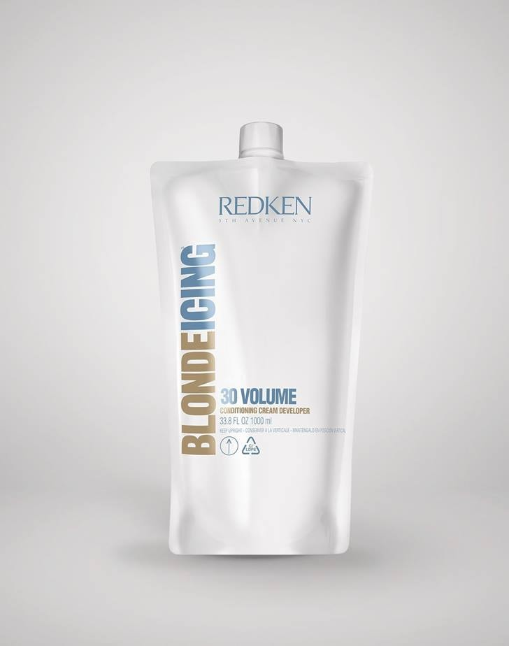 Redken Blonde Icing Conditioning Cream Developer ByRedken