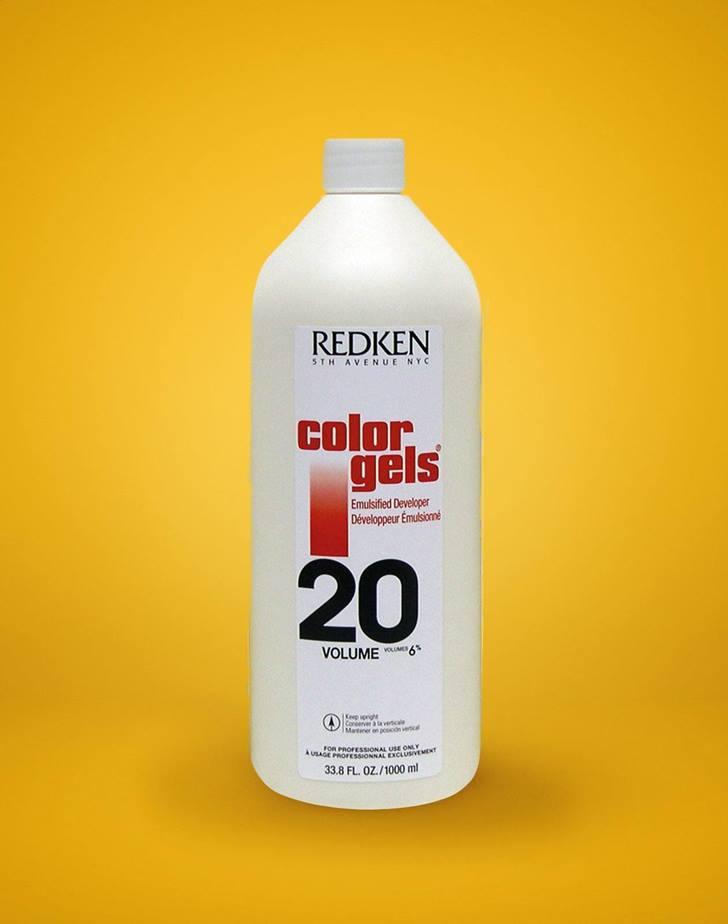 Color Gels Developer 20 Volume Color Fusion Haircolor Salon